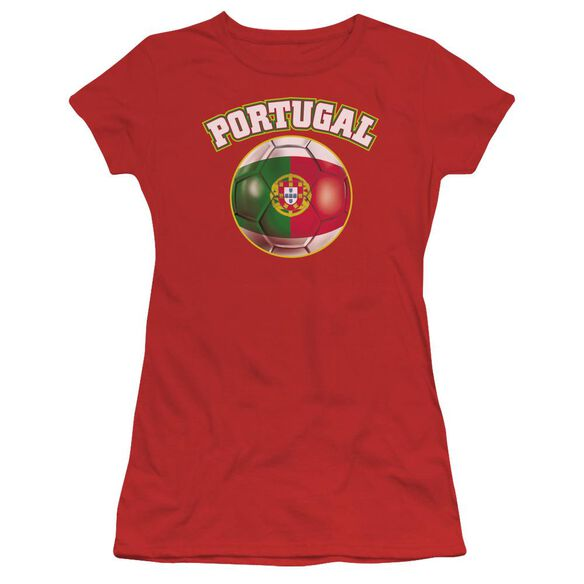 Portugal Short Sleeve Junior Sheer T-Shirt