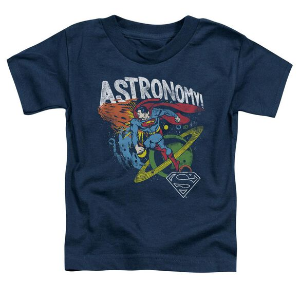 Dc Astronomy Short Sleeve Toddler Tee Navy T-Shirt