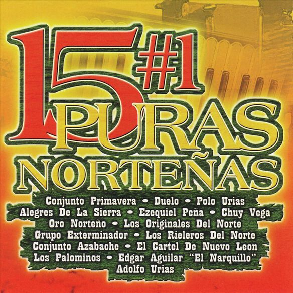 15 #1 Puras Norte(Cd)1105