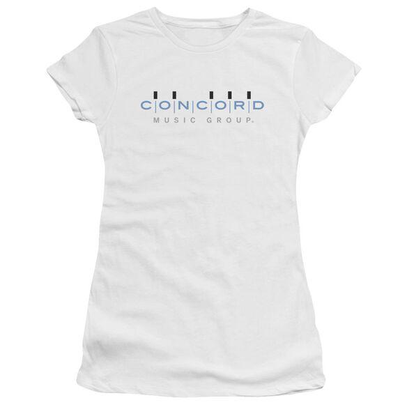 Concord Music Concord Logo Short Sleeve Junior Sheer T-Shirt