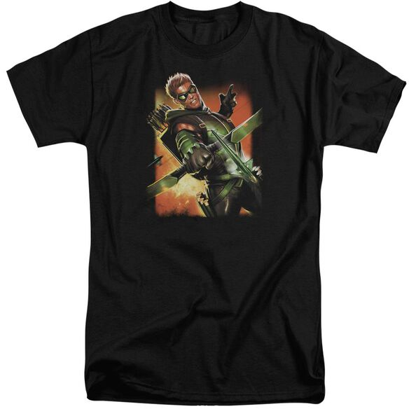 Jla Green Arrow #1 Short Sleeve Adult Tall T-Shirt