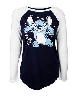 Stitch Roar Kanji Long Sleeve T-Shirt