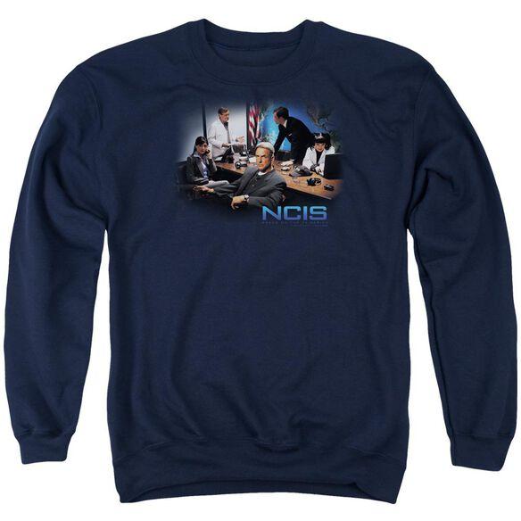 Ncis Original Cast Adult Crewneck Sweatshirt
