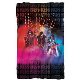 Kiss Stage Lights Fleece Blanket
