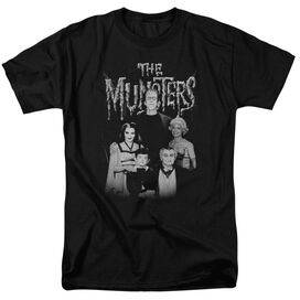 The Munsters Family Portrait Short Sleeve Adult T-Shirt