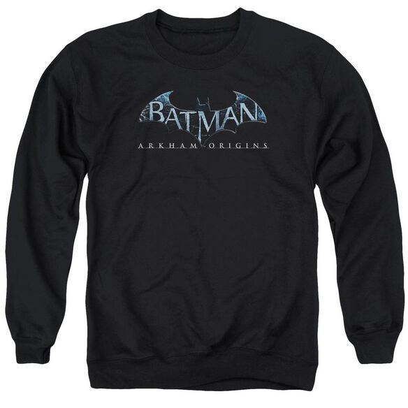 Batman Arkham Origins Logo Adult Crewneck Sweatshirt