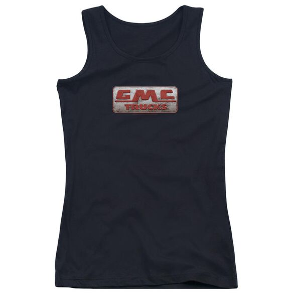 Gmc Beat Up 1959 Logo Juniors Tank Top