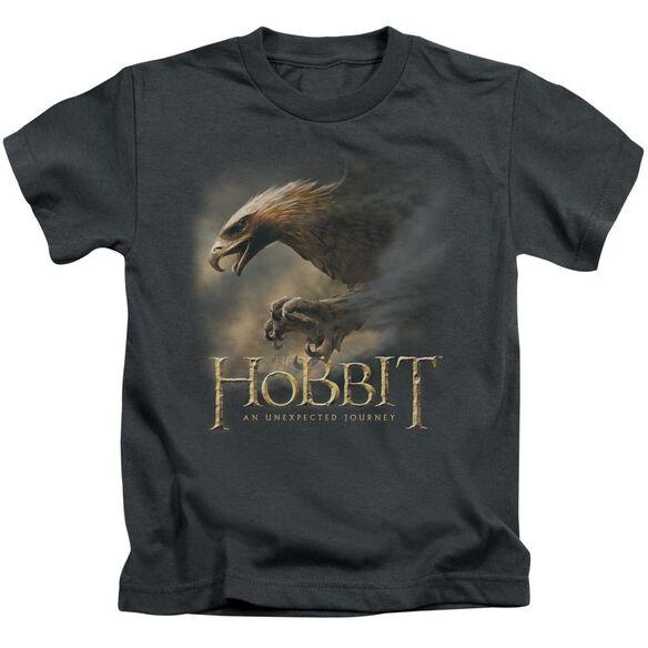 The Hobbit Great Eagle Short Sleeve Juvenile Charcoal Md T-Shirt