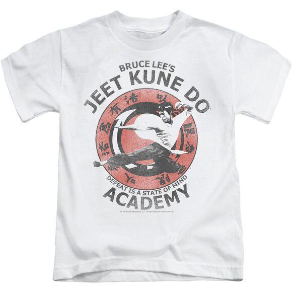 Bruce Lee Jeet Kune Short Sleeve Juvenile White T-Shirt