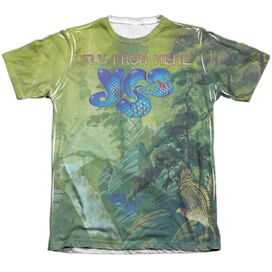 Yes Fly From Here Adult Poly Cotton Short Sleeve Tee T-Shirt