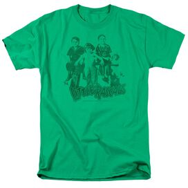 LITTLE RASCALS THE GANG - S/S ADULT 18/1 - KELLY GREEN T-Shirt