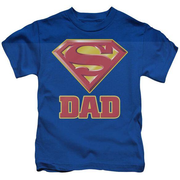 SUPERMAN SUPER DAD-S/S JUVENILE T-Shirt