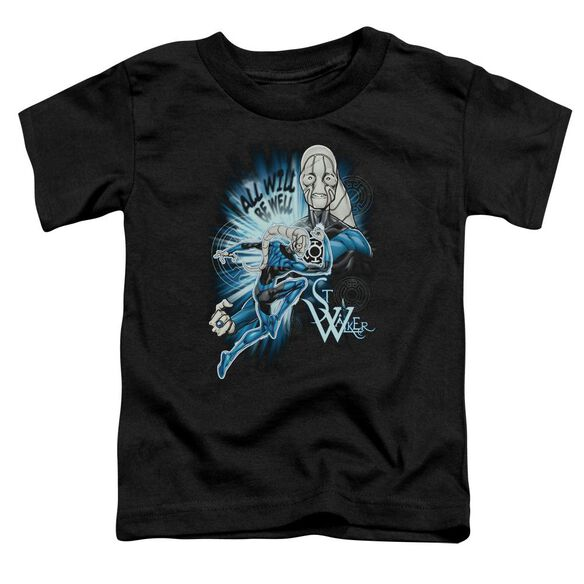 Green Lantern Saint Walker Short Sleeve Toddler Tee Black Sm T-Shirt