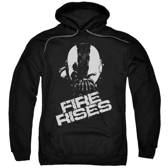 Dark Knight Rises Fire Rises Adult Pull Over Hoodie