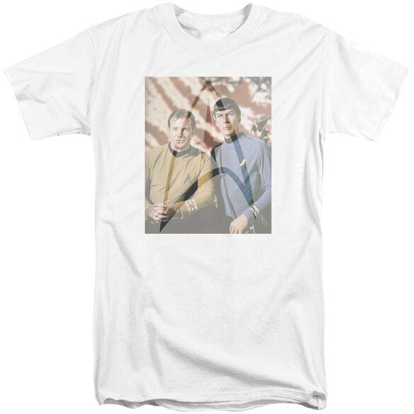 Star Trek Classic Duo Short Sleeve Adult Tall T-Shirt