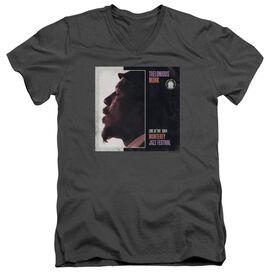 Thelonious Monk Monterey Short Sleeve Adult V Neck T-Shirt