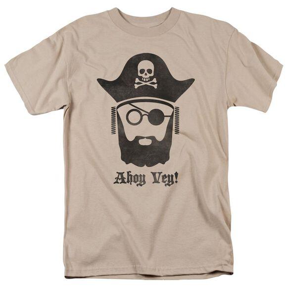 Ahoy Vey Short Sleeve Adult Sand T-Shirt