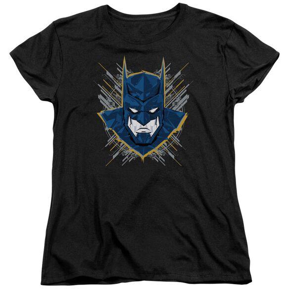 Batman Unlimited Bat Stare Short Sleeve Womens Tee T-Shirt