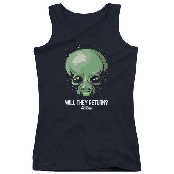 Ancient Aliens Will They Return Juniors Tank Top