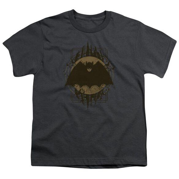 Batman Batman Crest Short Sleeve Youth T-Shirt