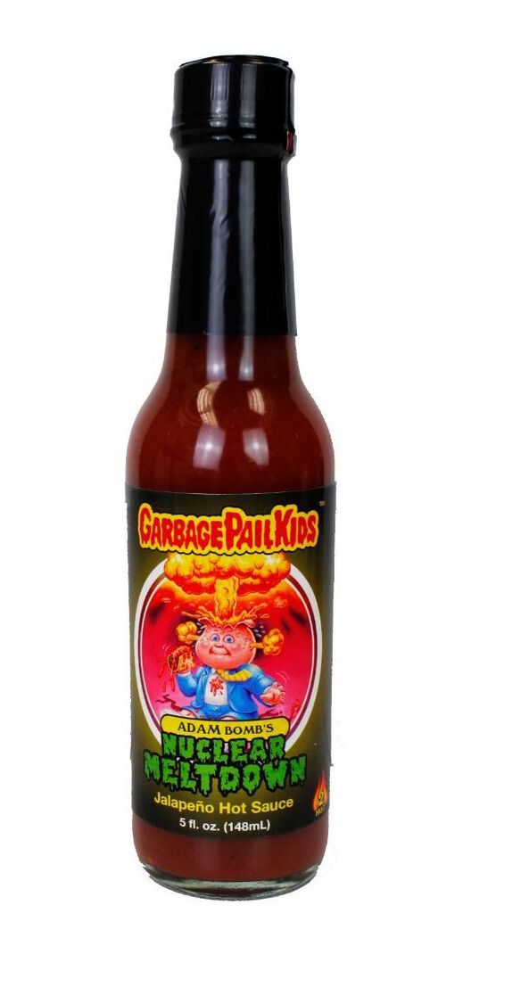 Garbage Pail Kids - Adam Bomb's Nuclear Meltdown Hot Sauce