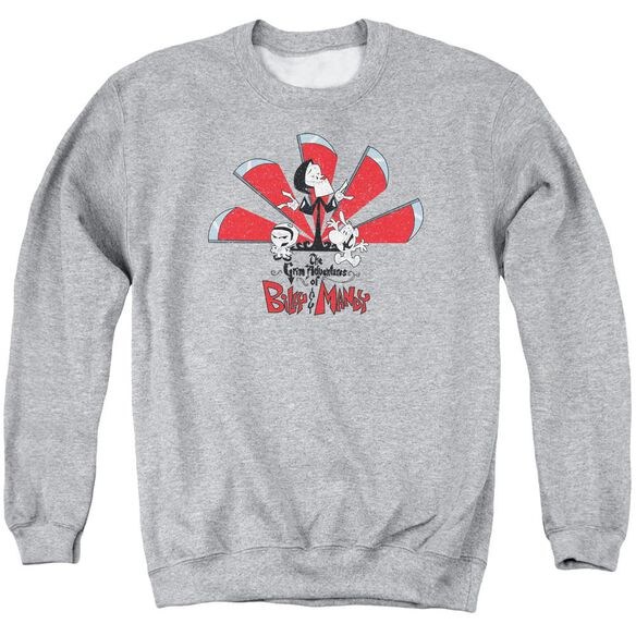 Grim Adventures Of Billy And Mandy Grim Adventures Adult Crewneck Sweatshirt Athletic