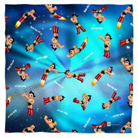Astro Boy Pattern Bandana White