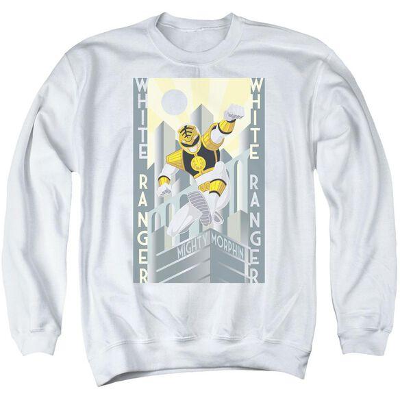 Power Rangers Ranger Deco Adult Crewneck Sweatshirt