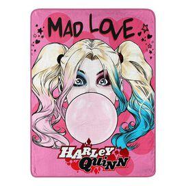 Harley Quinn Plush Micro Rachel Blanket