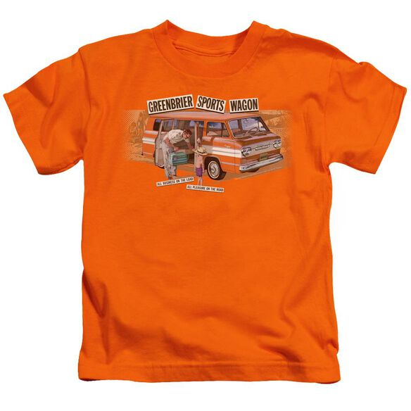 Chevrolet Greenbrier Corvair Sport Wagon Short Sleeve Juvenile T-Shirt