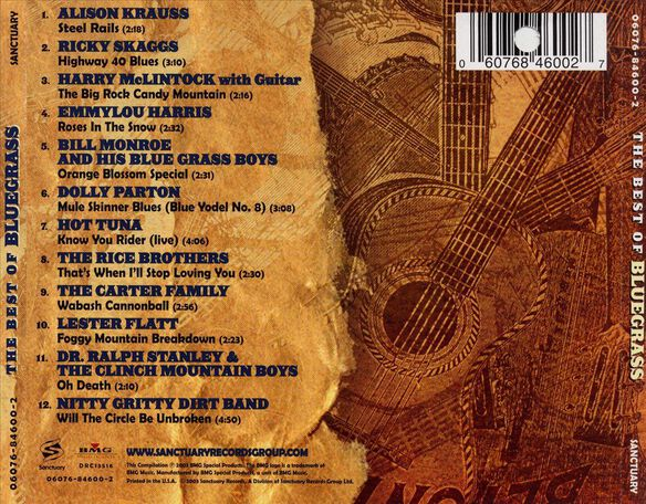 Best Of Bluegrass 803