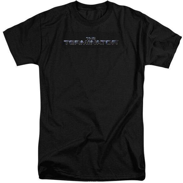 Terminator Logo Short Sleeve Adult Tall T-Shirt