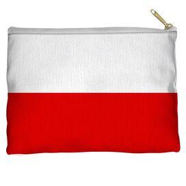 Polish Flag Accessory Pouch
