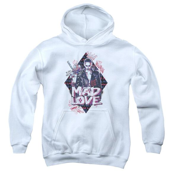 Suicide Squad Mad Love Youth Pull Over Hoodie