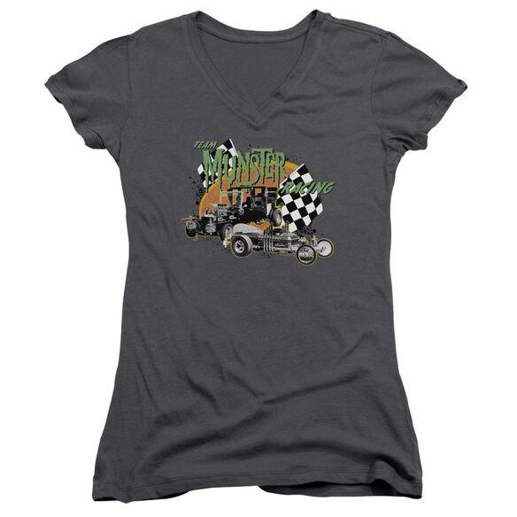 The Munsters Munster Racing Junior V Neck T-Shirt
