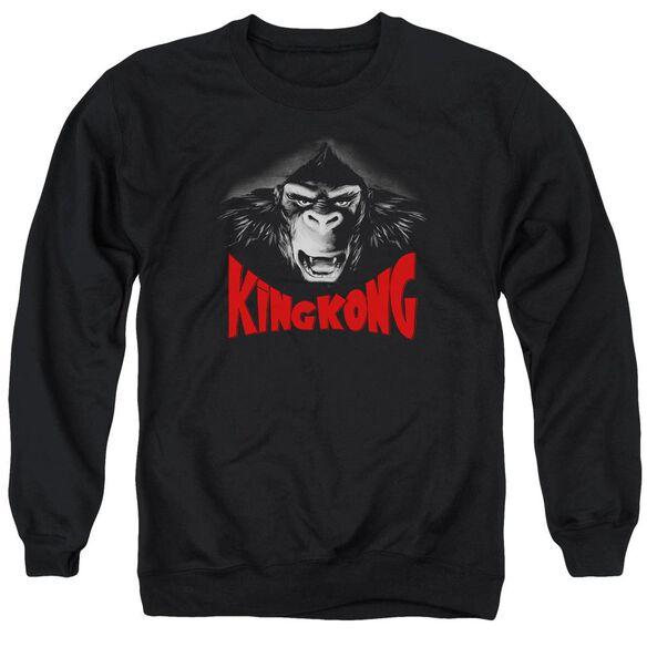 King Kong Kong Face Adult Crewneck Sweatshirt