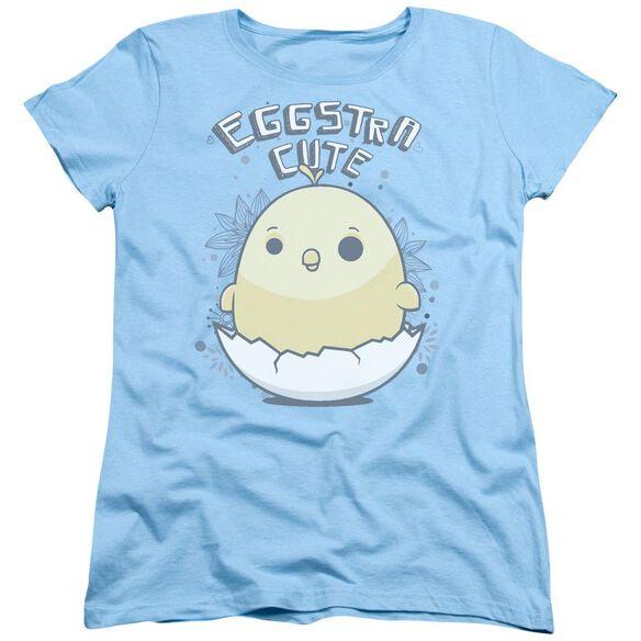 Eggstra Cute Short Sleeve Womens Tee Light T-Shirt