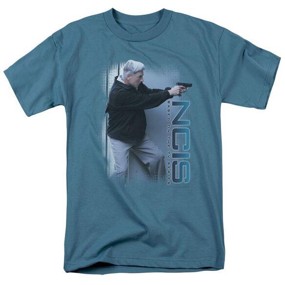 Ncis Drop It Short Sleeve Adult Slate T-Shirt