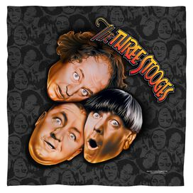 Three Stooges Stooges All Over Bandana
