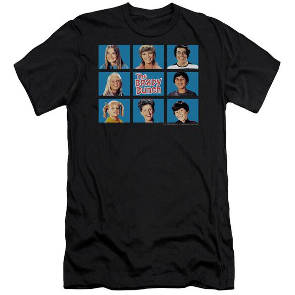 BRADY BUNCH FRAMED - S/S ADULT 30/1 - BLACK T-Shirt