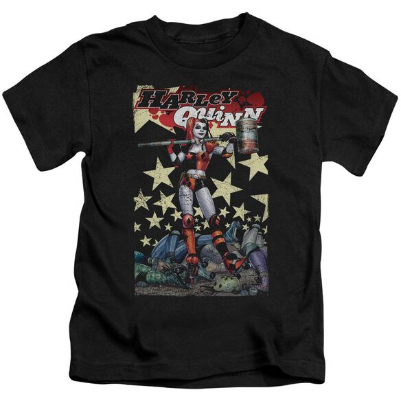 Batman Quinn One Short Sleeve Juvenile Black T-Shirt