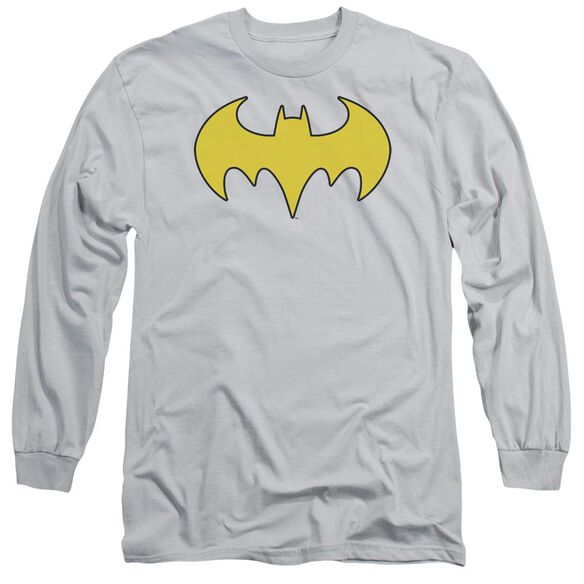 Dc Bat Girl Logo Long Sleeve Adult T-Shirt