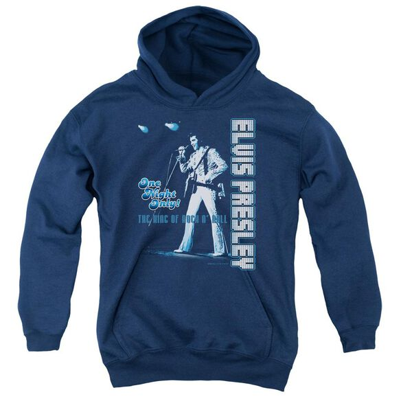 Elvis One Night Only Youth Pull Over Hoodie
