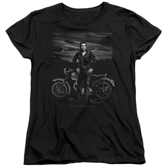 Dean Rebel Rider Short Sleeve Womens Tee T-Shirt