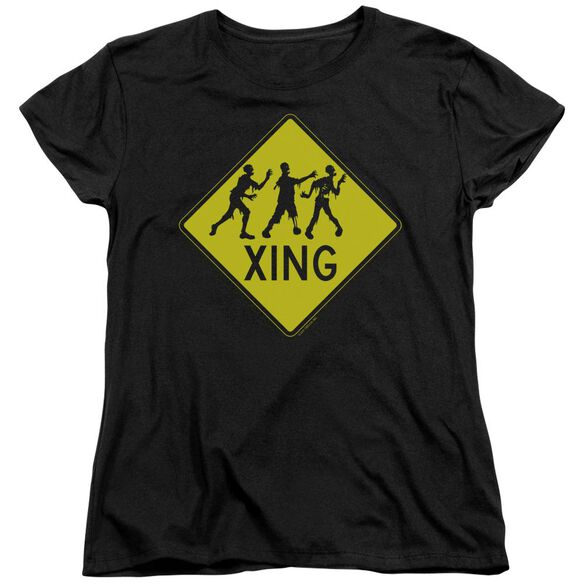 Zombie Xing Short Sleeve Womens Tee T-Shirt