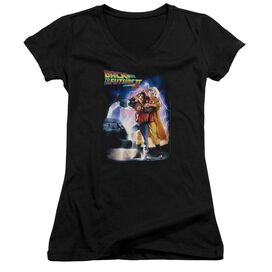 Back To The Future Ii Poster Junior V Neck T-Shirt