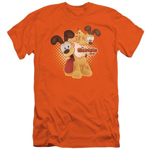 Garfield Odie Short Sleeve Adult T-Shirt