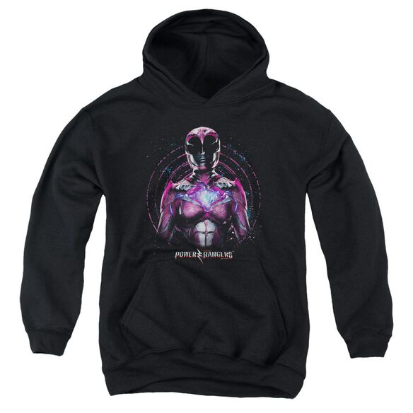 Power Rangers Pink Ranger Youth Pull Over Hoodie