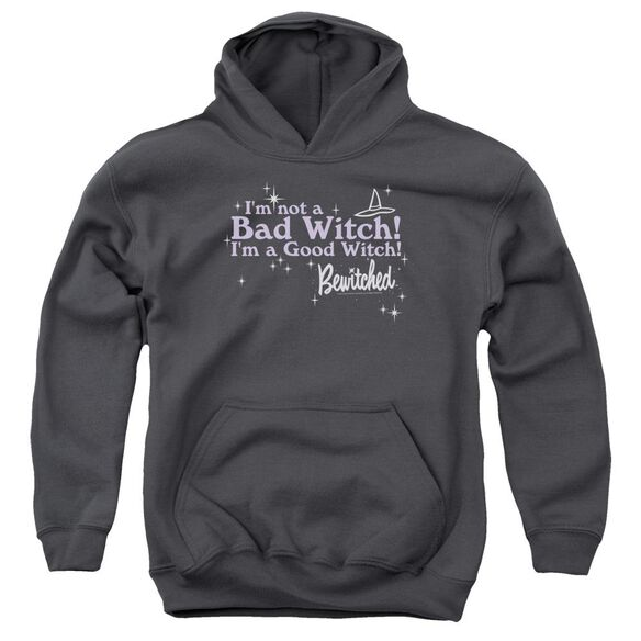 Bewitched Bad Witch Good Witch Youth Pull Over Hoodie