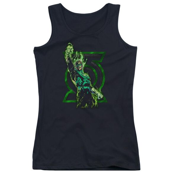 Green Lantern Fully Charged Juniors Tank Top